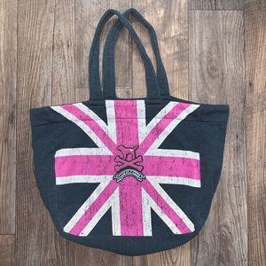 Victoria Secret Pink fabric tote bag